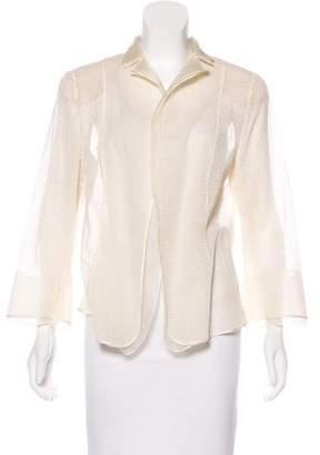 Akris Textured Silk Blazer