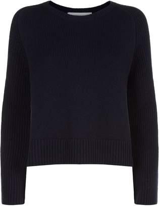 Lamberto Losani Cashmere Side Split Sweater