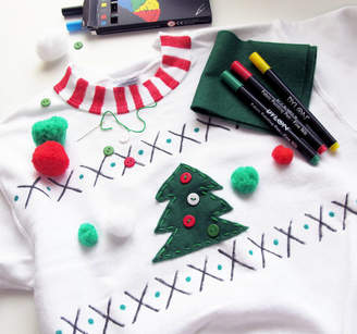 Your Own Sarah Hurley Adults Make Christmas Jumper Craft Kit