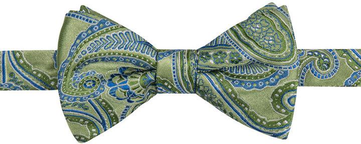 Countess Mara Men's Claremont Paisley Pre-Tied Bow Tie