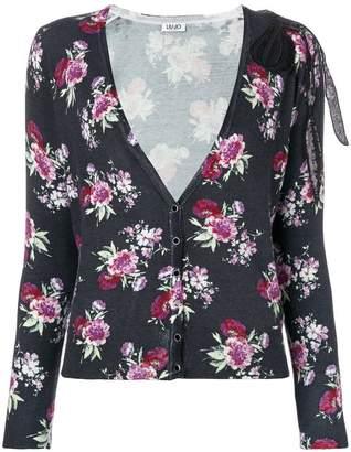 Liu Jo floral print cardigan