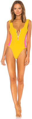 Lovers + Friends Zippy One Piece