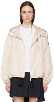 Moncler Gamme Rouge Pink Belted Windbreaker Jacket