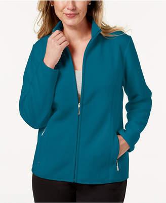 Karen Scott Petite Zeroproof Jacket