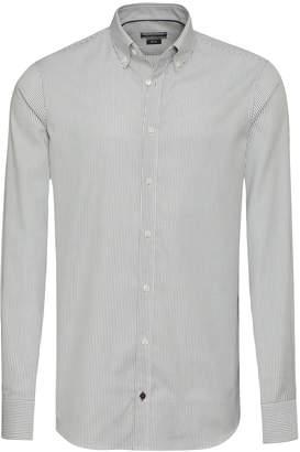 Tommy Hilfiger Pinstripe Slim Fit Dress Shirt