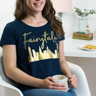 115a9c47 Lovetree Design Fairytale Over New York Christmas T Shirt
