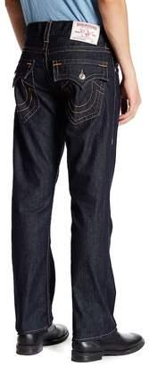 True Religion Flap Pocket Straight Leg Jean $163 thestylecure.com