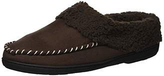 Dearfoams Women's Microsuede Clog Slipper