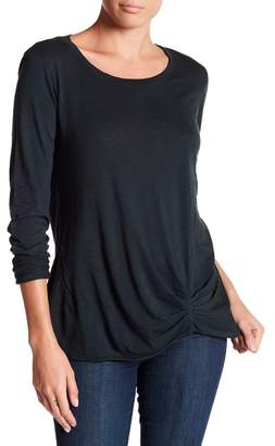 Michael Stars Front Twist Long Sleeve Tee