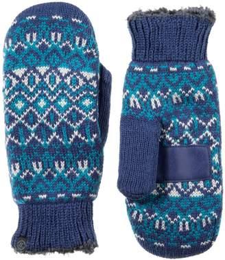 Isotoner Women's smartDRI Fairisle Knit Tech Mittens