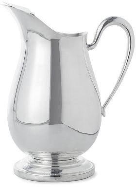 Silver Beaded Pitcher