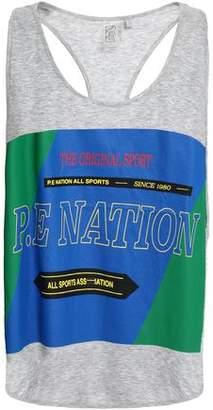 P.E Nation The Countback Printed Cotton Tank