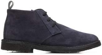Corneliani lace-up ankle boots