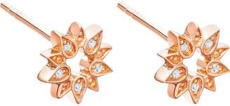 Astley Clarke Mini Sun Biography sapphire stud earrings