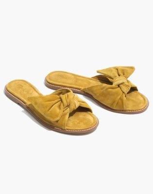 Madewell The Naida Half-Bow Sandal