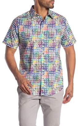 Robert Graham Cortile Patterned Short Sleeve Classic Fit Shirt