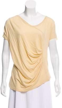 Dries Van Noten Asymmetric Short Sleeve T-Shirt