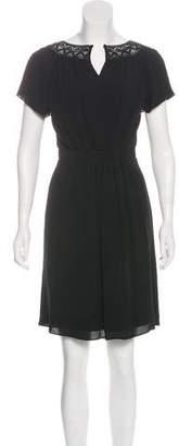 Rebecca Taylor Pleated Mini Dress