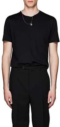 Givenchy Men's Necklace Cotton Jersey T-Shirt - Black