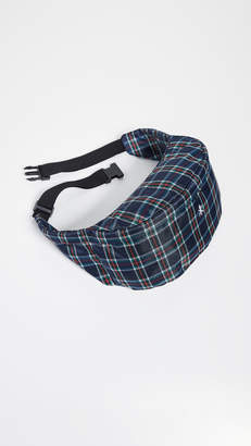 Opening Ceremony Plaid Fanny Pack