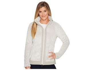The North Face Furry Fleece Full Zip (Rainy Day Ivory