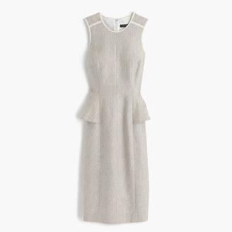 Linen peplum dress $168 thestylecure.com