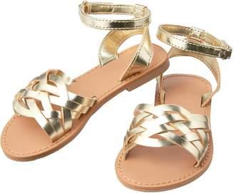 Crazy 8 Crazy8 Metallic Strappy Sandals
