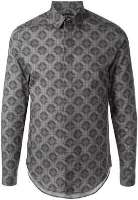 Emporio Armani printed formal shirt