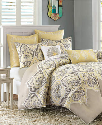Madison Park Nisha Cotton Sateen 7-Pc. King/California King Comforter Set Bedding