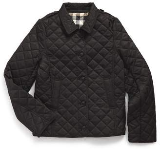 Burberry 'Mini Ashurst' Quilted Jacket