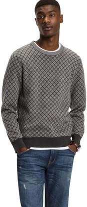 Tommy Hilfiger Crewneck Argyle Sweater