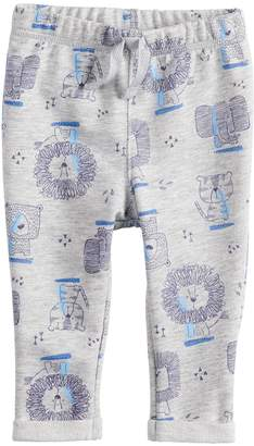 Baby Girl Jumping Beans Graphic Rolled Cuff Pants