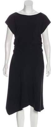 Halston A-Line Midi Dress