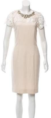 Amen Embellished Lace Dress