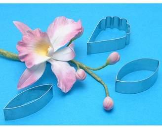 Polyform Petal Cutter Set 3 Pieces-Cattleya Orchid Flower