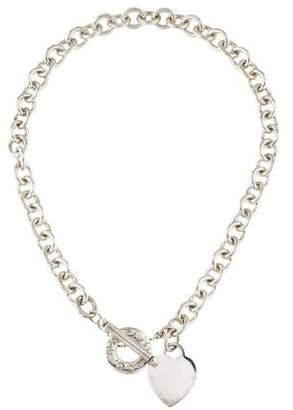 Tiffany & Co. Heart Tag Toggle Necklace