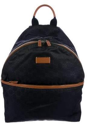 Gucci GG Nylon Backpack