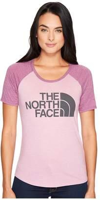 The North Face Short Sleeve Half Dome Baseball Tee Women's T Shirt