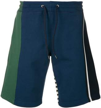 Paul Smith colour block shorts