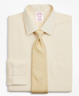 Brooks Brothers Madison Classic-Fit Dress Shirt, Non-Iron Check