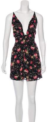 Reformation Victory Floral Print Dress w/ Tags