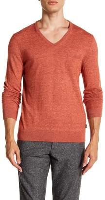 BOSS Sisanor V-Neck Sweater
