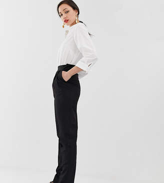 Asos Tall DESIGN Tall high waist tapered trousers