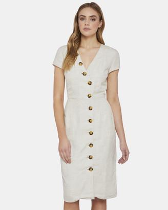 Oxford Beccy Button Up Dress