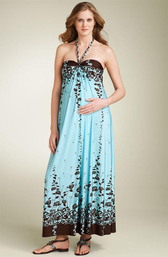 Olian Maternity Maxi Dress