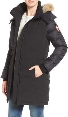 Canada Goose Rowan Down Parka with Genuine Coyote Fur Trim