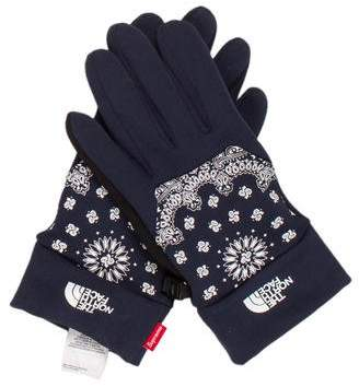 The North Face x Supreme Bandana Etip Gloves w/ Tags
