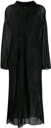 Jean Paul Gaultier Pre-Owned sheer kaftan dress