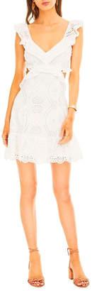 Astr Elora Eyelet Dress