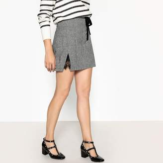 Suncoo Festina Prince of Wales Check Mini Skirt